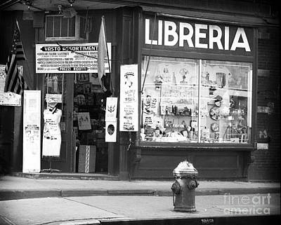 35mm Photograph - Libreria 1990s by John Rizzuto