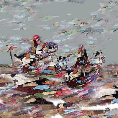 Mohammad Digital Art - Libyan View by MBL Binlamin