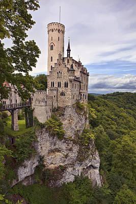German Photograph - Lichtenstein Castle by Marcia Colelli
