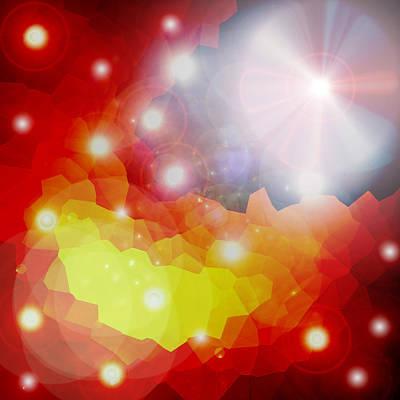 Lichtkristalle Art Print by Ramon Labusch