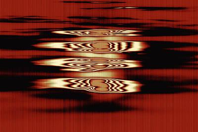 Licht Mixed Media - Lichtscheine by Barbelotta