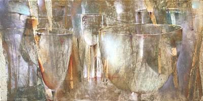 Painting - Lichtspiel by Annette Schmucker
