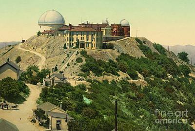 Lick Observatory Photograph - Lick Observatory 1902 by Padre Art