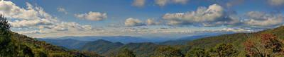 Photograph - Lickstone Ridge View by Gregory Scott