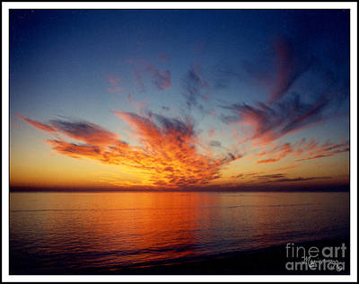 Photograph - Lido Key Sunset by Mariarosa Rockefeller