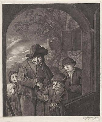 Tears Drawing - Liereman, Cornelis Visscher II by Cornelis Visscher (ii)