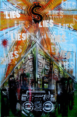 Painting - Lies Lies Lies by Khryztof Holtwick
