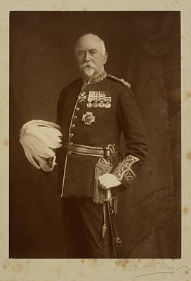 Medallion Photograph - Lieut-general Sir John Withers Mcqueen by British Library