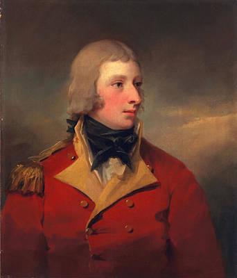 Cravat Painting - Lieutenant Andrew Agnew, C.1795 by Sir Henry Raeburn