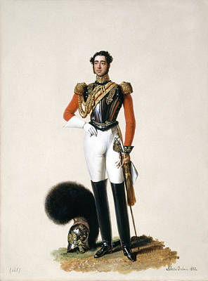 Lieutenant Thomas Myddleton Biddulph Print by Alexandre-Jean Dubois Drahonet