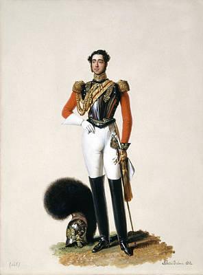 Breastplate Painting - Lieutenant Thomas Myddleton Biddulph by Alexandre-Jean Dubois Drahonet