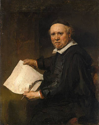 Painting - Lieven Willemsz Van Coppenol by Rembrandt