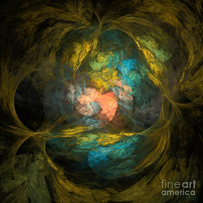 Art Print featuring the digital art Life After by Arlene Sundby