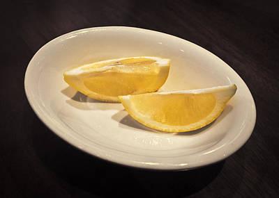 Life And Lemons Art Print by Patrick M Lynch