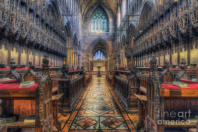 Cathedral Photograph - Life And Promises by Ian Mitchell