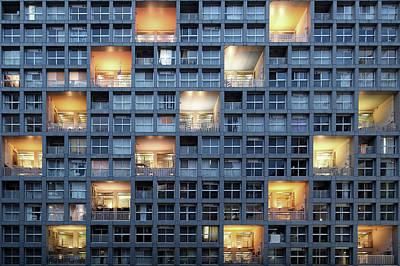 Japan Wall Art - Photograph - Life Box by Koji Tajima