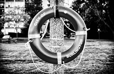 Photograph - Life Buoy Ring by Boris Mordukhayev