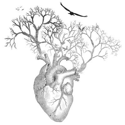 Love Is Free Digital Art - Life Bw by Heather Applegate