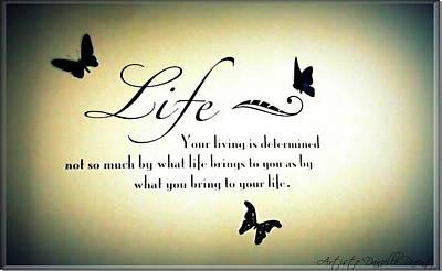 Life  Print by Danielle  Parent