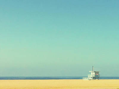 Photograph - Life Guard Tower by Denise Taylor