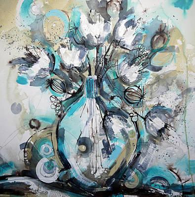 Still Life Painting - Life In A Vase by Irina Rumyantseva