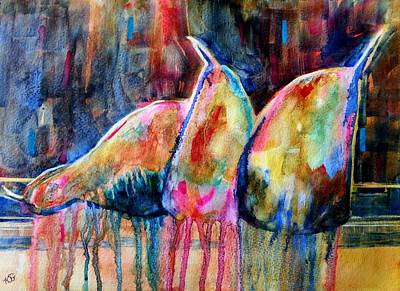 Painting - Life In Color by Kim Shuckhart Gunns