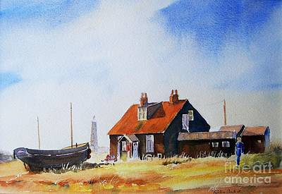 Painting - Life In Dungeness by Beatrice Cloake