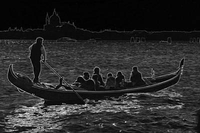 Photograph - Life In Venice Italy by Indiana Zuckerman