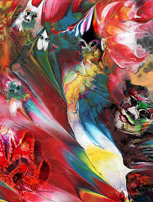 Painting - Life Is A Carnival 03 by Miki De Goodaboom