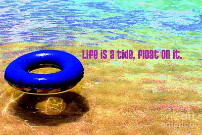 Digital Art - Life Is A Tide by Valerie Reeves