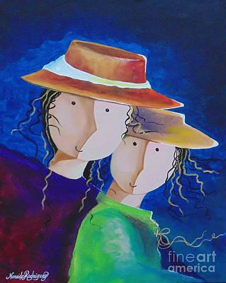 Painting - Life Is Beautiful by Nereida Rodriguez
