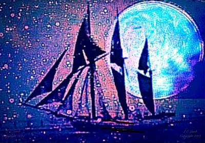 I Am Sailing Painting - Life Is But A Dream I by Larry Lamb