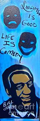 Life Is Comedy Art Print