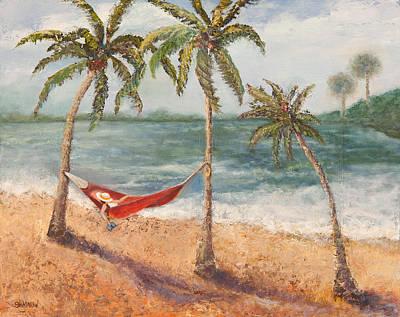 Life Is Good Art Print by Annie St Martin