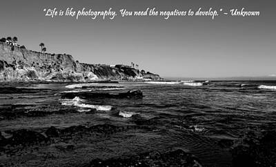 Photograph - Life Is Like Photography by Judy Vincent