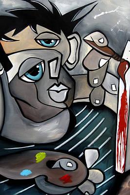 Life Is Messy By Fidostudio Art Print by Tom Fedro - Fidostudio