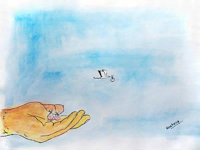 Life Art Print by Keshava Shukla