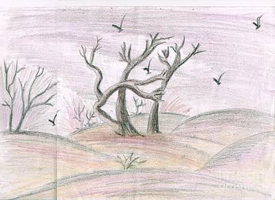 Syeda Ishrat Painting - Life Of Autumn by Syeda Ishrat