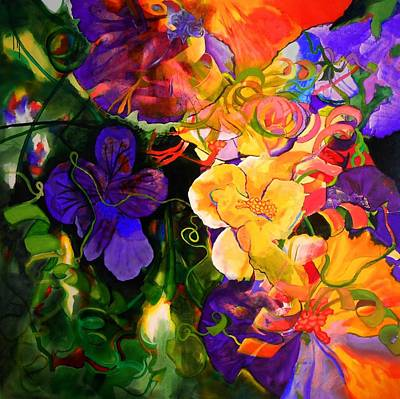 Painting - Life Of Flowers by Georg Douglas