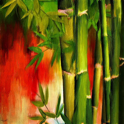 Bamboo Digital Art - Life Of Simplicity by Lourry Legarde