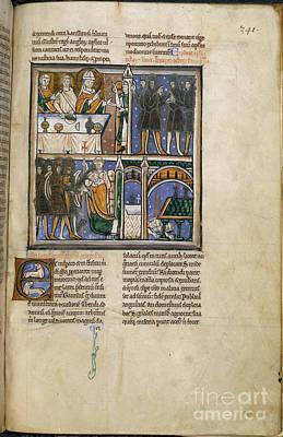 Thomas Becket Photograph - Life Of St. Thomas Becket by British Library