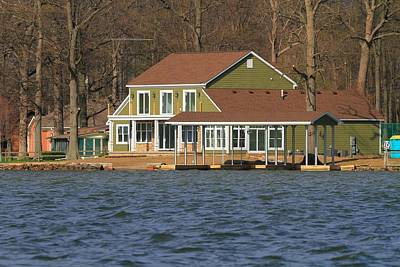Lakeview Photograph - Life On Indian Lake Ohio by Dan Sproul