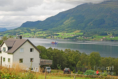 Photograph - Life On The Fjord by Ankya Klay