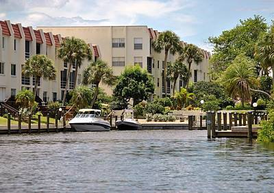 Photograph - Life On The Intracoastal by John Hintz