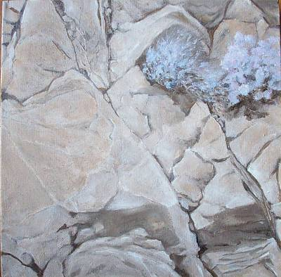 Painting - Life On The Rocks by Irene Corey