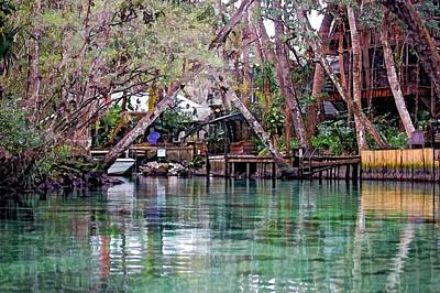 Life On Weeki Wachee Springs Art Print