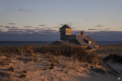 Photograph - Life Saving Station  by John Meader