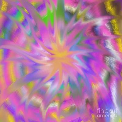 Digital Art - Life Spiral by Mohala Johnson
