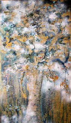 Kabala Painting - Life Tree by Shoshana Donaya