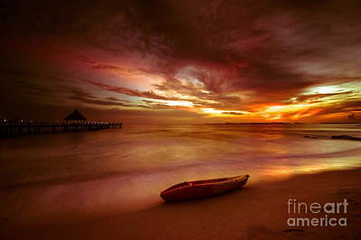 Photograph - Lifeboat by Arik S Mintorogo